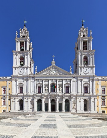 franciscan: Mafra National Palace, Convent and Basilica in Portugal  Franciscan Religious Order  Baroque architecture  Editorial