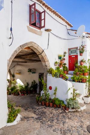 15th: 15th century Medieval Town-Hall (Antigos Paços do Concelho) in the Medieval Borough of Castelo de Vide, Alto Alentejo, Portugal.