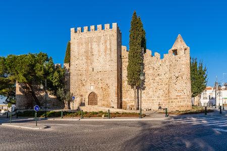 alter: Medieval Castle of Alter do Chao, in the Portalegre District. Alto Alentejo, Portugal