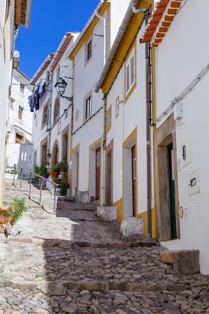 sephardic: Medieval Jewish Quarter  Ghetto (Judiaria) in Castelo de Vide,  Alto Alentejo, Portugal.
