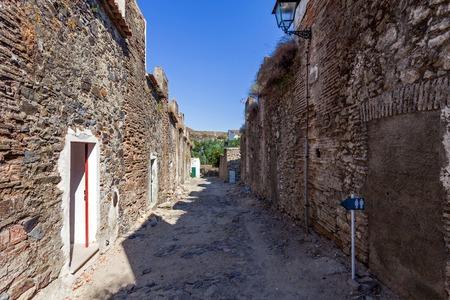 barracks: Barracks Street (Rua dos Quarteis) in the Medieval Borough of Castelo de Vide, Alto Alentejo, Portugal.