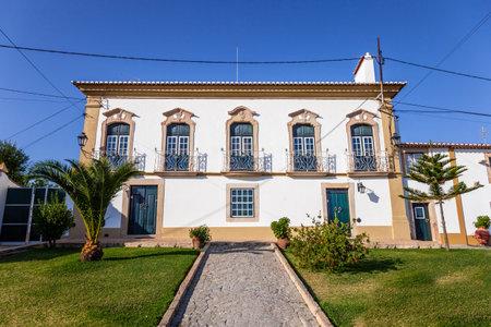 flor: The Palace Turismo Rural - a Manor Guest House hotel in Flor da Rosa. Crato, Alto Alentejo, Portugal. Editorial
