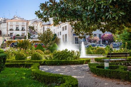 Gonçalo Eanes de Abreu Garden in Castelo de Vide, Portalegre, Alto Alentejo, Portugal.