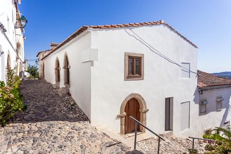 14th: Medieval Sephardic Synagogue (13th  14th century) in Castelo de Vide, Portalegre, Alto Alentejo, Portugal.