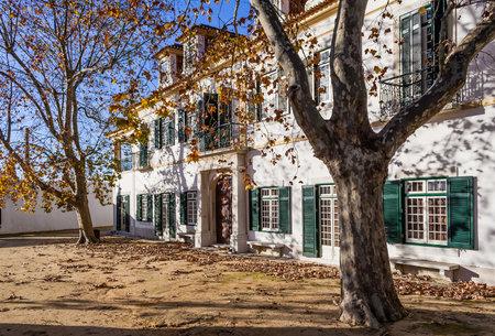 quinta: Quinta da Fidalga (Fidalga Palace and Gardens). Seixal, Setubal, Portugal. Editorial