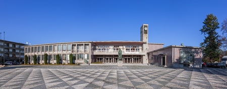 cityhall: Santo Tirso, Portugal. December 22, 2015: City-Hall building.