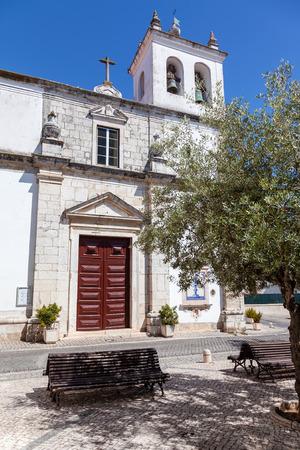 ribatejo: Santo Estevao Church also known as Santissimo Milagre Sanctuary. Renaissance architecture. Santarem, Portugal.