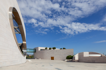 scientific research: Lisbon, Portugal - October 31, 2016:  Champalimaud Foundation, Centre for the Unknown. Biomedical private research center in the fields of neuroscience, oncology and visual impairment.