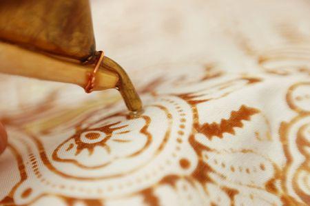 batik: canting sur batik Banque d'images