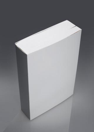 White plain book with hard cover Banco de Imagens