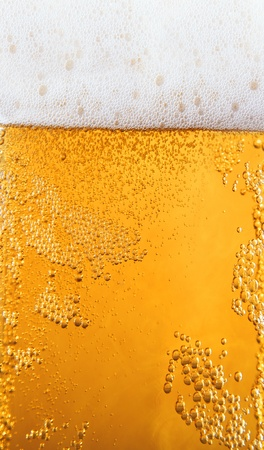 froth: Mug of beer as background