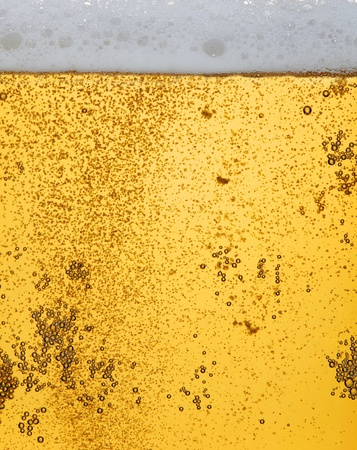 Fresh beer dewy glass texture photo