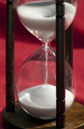 Historic 5 minutes sand glass clock