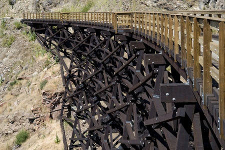 New trestles in Myra Canyon