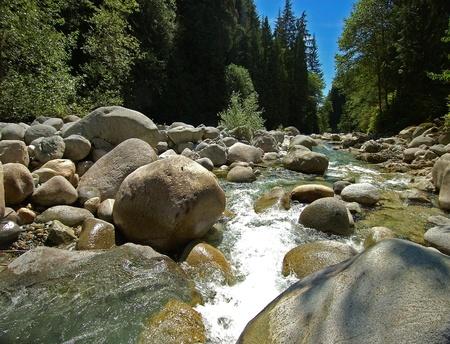 stoney: Capilano stoney river by Vancouver