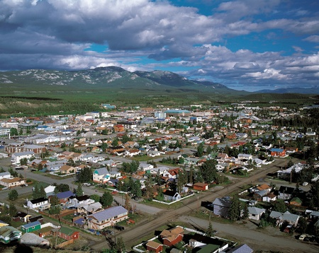 Whitehorse, au Yukon, Canada Banque d'images - 11097267