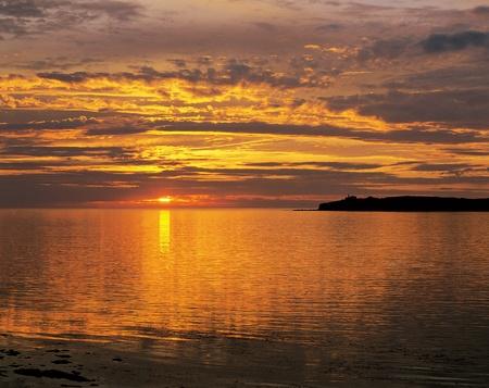 bonne: Sunset at Bonne Bay