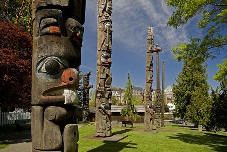 Thunderbird Park in Victoria, British Columbia, Canada