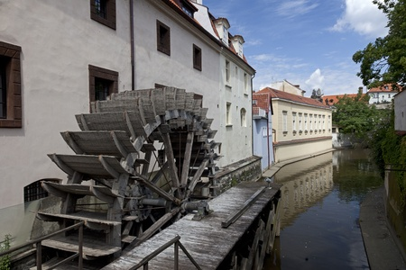Certovka Canal and the Great Prior Mill