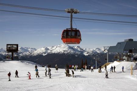 Alpine scene with Gondola Stock Photo - 11400928