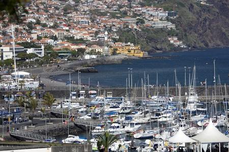 La ville de Funchal à Madère, Portugal Banque d'images - 11829132