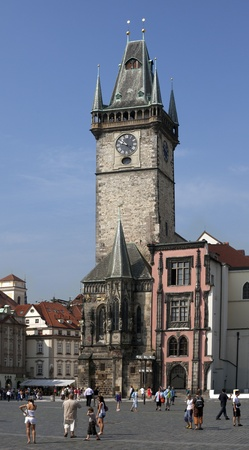horologe: The Town Hall of the Old Town in Prague