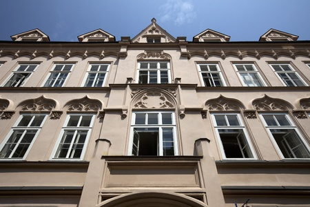 The Old Town apartment house in Prague