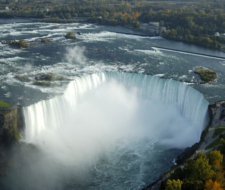 Niagara Falls in Ontario, Canada Stock Photo