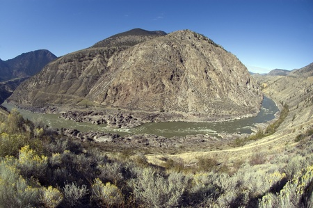 Fraser River and camelsfoot Range, by Fountain and Lillooet