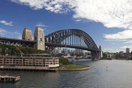 Sydney Harbour Bridge, Australia Редакционное