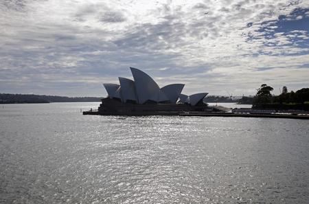 Sydney Harbour  skyline w Sydney Opera House