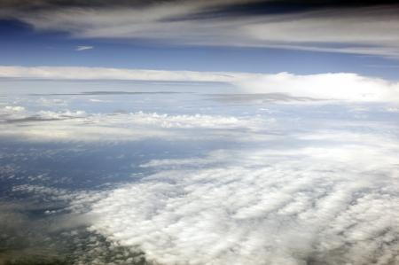 Antarctic - ruimte weergave van de aarde