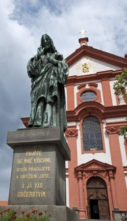 Stara Boleslav - The pilgrim Church of the Assumption of Virgin Mary