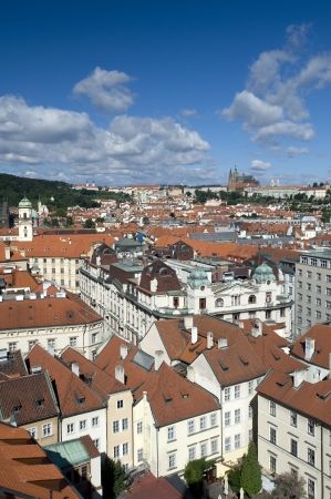 Prague - Hradcany, City Hall and Old Town
