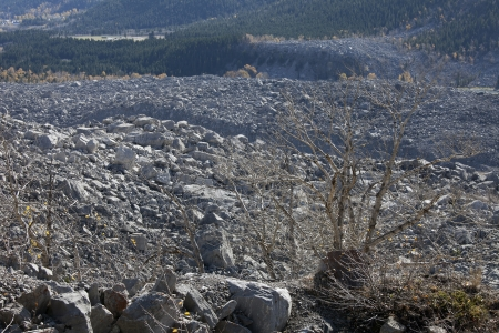 frank: Crownest Pass, Frank Slide Disaster in Alberta