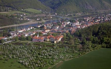 Zbraslav Castle and Vltava River, Czech Republic Stock Photo - 17554384