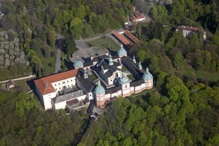 Svata Hora u Pribrami, The Holy Mountain, Marian Place, Czech Stock Photo - 17554389