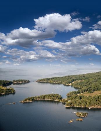 Gulf Islands - Saturna Island and Samuel Island, British Columbia photo