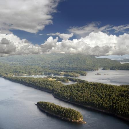 Gulf Islands - Saturna Island and Samuel Island