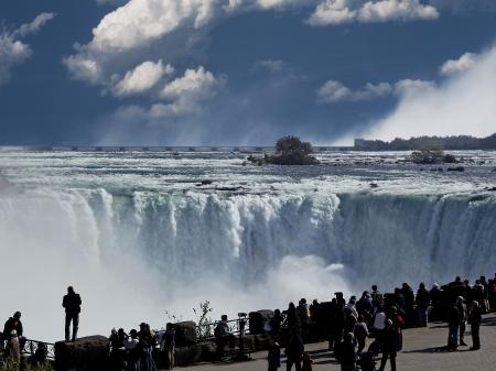 niagara falls city: Niagara Whirlpool, Ontario, Canada Editorial