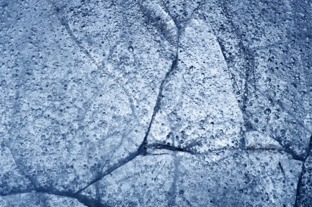 Frozen water, lake - broken ice surface Stock Photo - 21296290
