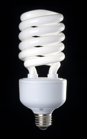 Saving energy bulb photo