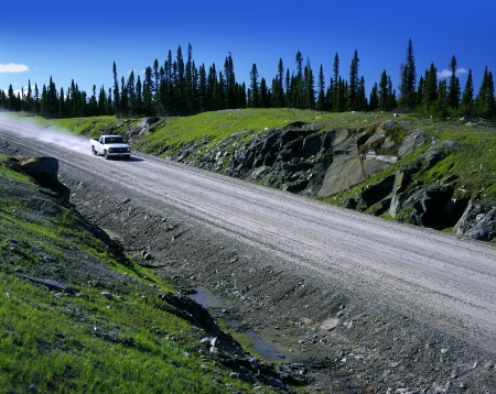 Labrador Highway - New Labrador Highway near Goose Bay, Canada