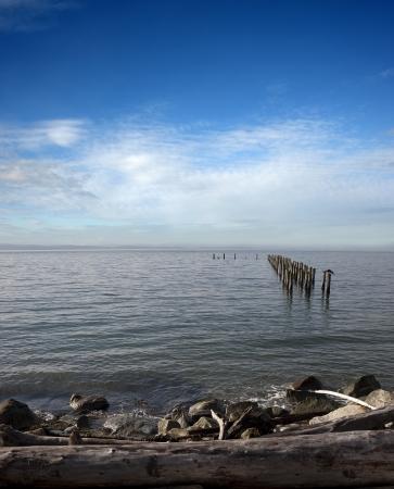 Sea - Pacific Ocean near Point Roberts, USA photo