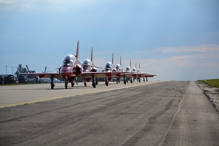 raf: RAF - Red Arrows