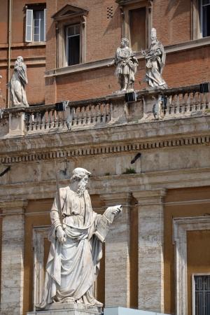 Statue of Saint Paul in Vatican Stock Photo - 15759671