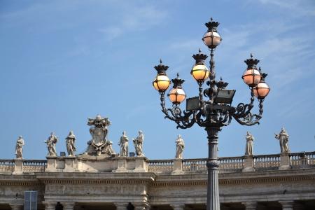 Saint Peter s Square in Vatican  Stock Photo - 16020268