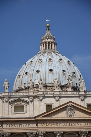 The Papal Basilica of Saint Peter in the Vatican. Stock Photo - 16023886