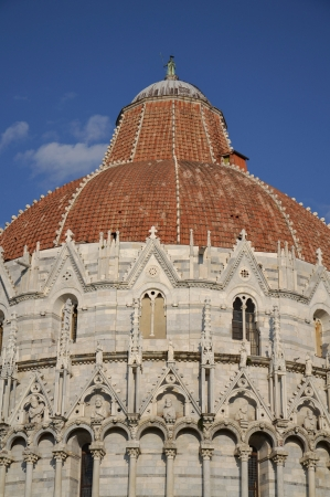 The Baptistery of the Cathedral of Pisa photo