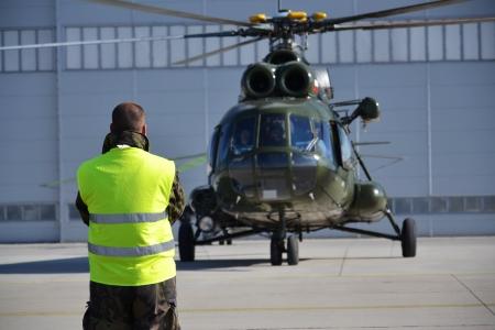 Mi-8 helicopter Standard-Bild